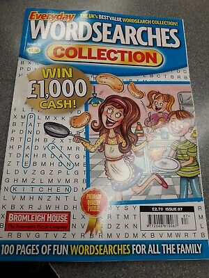 Everyday Wordsearch Collection no 86 Wordsearch For All Family. 120 puzzles