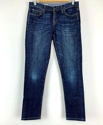 "Boys Gap Blue Denim Skinny Jeans Size W28"" L27"" Uk *13"