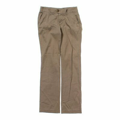 Old Navy Girls  Classic Pants. size JR 0,  brown,  cotton, spandex