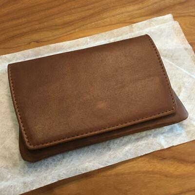 American Express Platinum Gift Italian Leather Tissue Case limited F/S JAPAN
