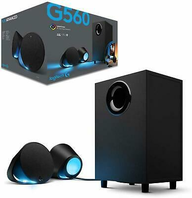 NEW Logitech Speakers G560 Computer PC Gaming Speakers Black Free Shipping AU