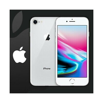 """Smartphone Apple Iphone 8 64Gb Silver Grigio Ios Touch Id Ip67 12Mpx 4,7"""" Comple"""