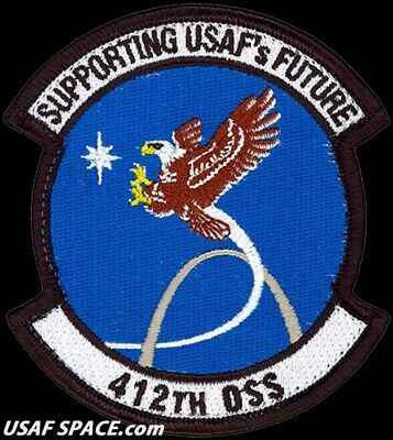 USAF 412th OPERATIONS SUPPORT SQUADRON - Edwards AFB, CA - ORIGINAL VEL PATCH