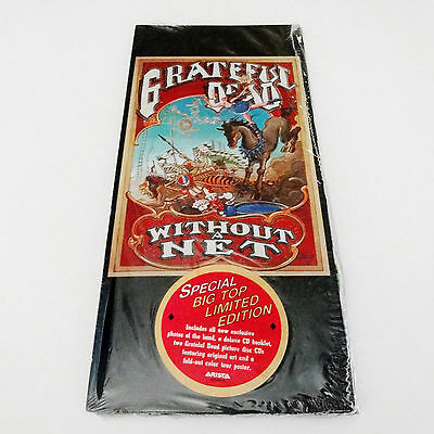Grateful Dead Without A Net CD Limited Edition Rick Griffin Poster Picture Disc