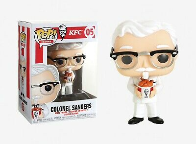 Funko Pop Icons: KFC™ - Colonel Sanders Vinyl Figure Item #36802