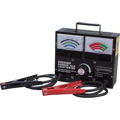 NEW!! Ironton Battery/Carbon Pile Load Tester — 500 Amps