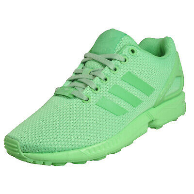 2ab461e1cdb Adidas Originals ZX Flux Women's Classic Casual Gym Fitness Trainers Green