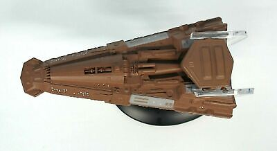 Eaglemoss Bajoran Freighter 6945-A/A 2017 Figure and Stand SABJ09