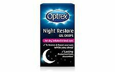 Optrex Night Restore Gel Drops For Dry, Irritated & Tired Eyes 10ML