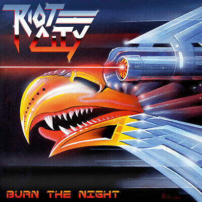 RIOT CITY - Burn the Night (NEW*CAN HEAVY SPEED METAL*PRIEST*STRIKER*A.STEEL)