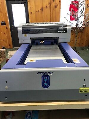 014dce89 OmniPrint Freejet 330xt Plus, Pearl PTM Pretreat Machine, Extra Platens &  More!