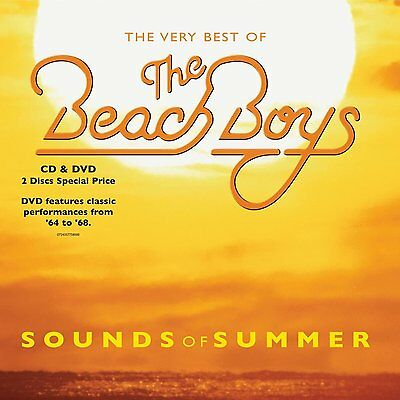The Beach Boys - Sounds Of Summer: The Very Best Of - UK CD/DVD album 2004