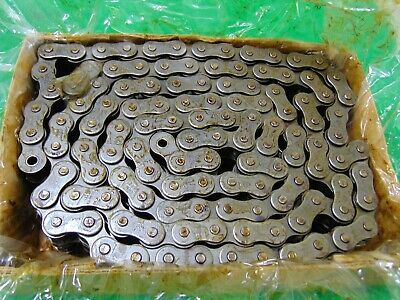 10' Roll RS80-2 Tsubaki Double Strand Roller Chain 80