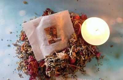 PSYCHIC VISIONS SACRED Herbal Ritual Powder WICCA Pagan witch Astral