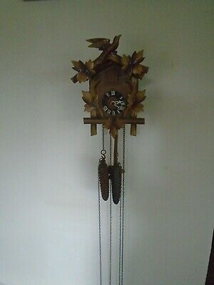 Vintage German Cuckoo Clock - Working Order