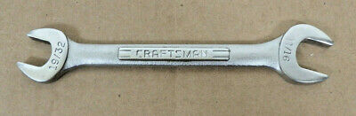 """CRAFTSMAN 19/32"""" X 11/16"""" Open End Wrench -VV- series USA # 44581 Wrench"""