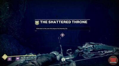 Destiny 2 - Shattered Throne (Regular/Solo/Solo + Flawless)  - PC - Recovery