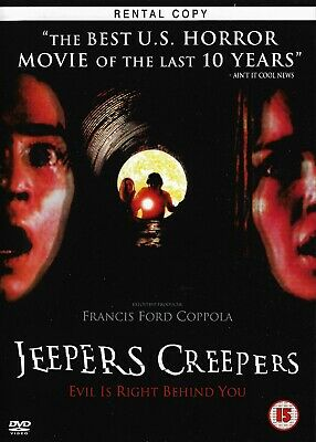 Jeepers Creepers (DISC ONLY) DVD Horror Ex Rental