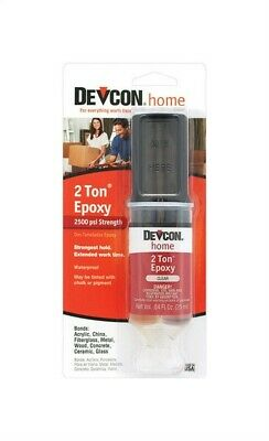 Devcon Home  2 Ton  High Strength  Epoxy  0.84 Oz. Pack Of 6