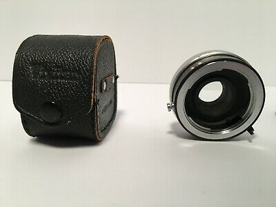Vivitar 2X-5 Tele-Converter for Minolta MD with Case