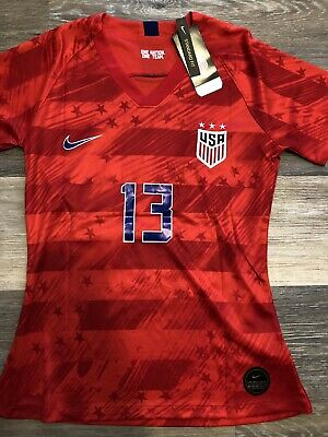 8b524fc37 Alex Morgan Jersey  2019 World Cup United States National   USA Red Womens