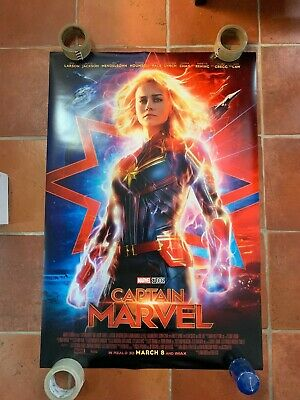 Captain Marvel 1-Sheet Payoff Movie Poster DISNEY DS 27x40 USA AVENGERS