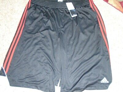 Adidas 3G Speed 2.0 Shorts size 2X new with tags  Black with red