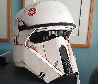 Star Wars Rogue One AT-ACT Driver Helmet 3D Printed (Painted)