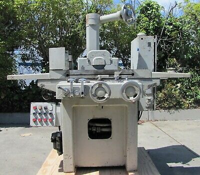"DoALL Hydraulic Surface Grinder 6"" x 18"" Table Grinding Machine"