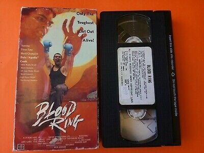 """Blood Ring (VHS, 1993) Dale """"Apollo"""" Cook"""