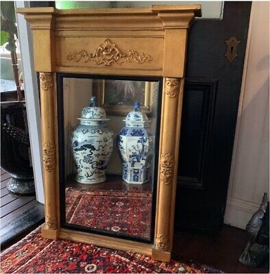 Antique French mirror gold Louis Woolloongabba