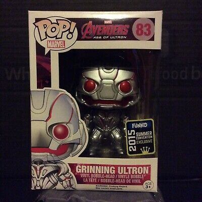 Grinning Ultron Funko Pop Vinyl Avengers Age of Ultron 2015 SDCCSummer Exclusive