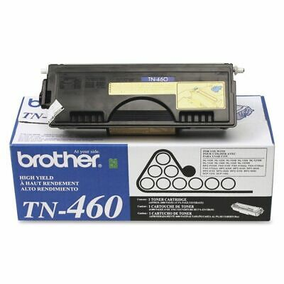 Genuine OEM Brother TN460 Black High-Yield Toner Cartridge PPF MFC DCP HL UNS