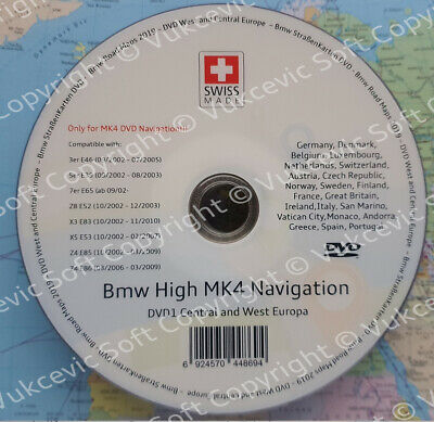 2019 BMW HIGH Navigation MK IV DVD1