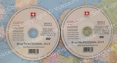 2019 BMW Professional CCC Update DVD1 + DVD2 Radar Edition