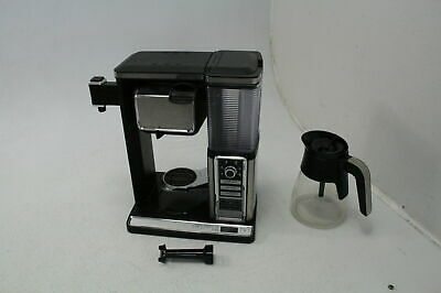 Ninja CF091 Coffee Makers 50 oz Silver Glass Carafe Inspiration Guide Frother