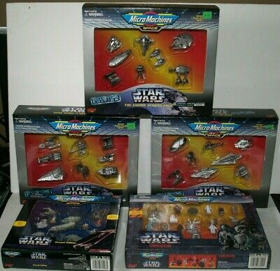 Star wars Micro Machines Space Galoob Collectors Limited Edition lot