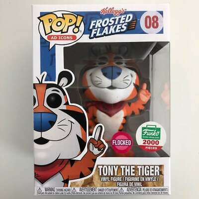 Funko Pop Ad Icons Kellogg's Frosted Flakes Tony The Tiger Flocked Shop 1/2000 8