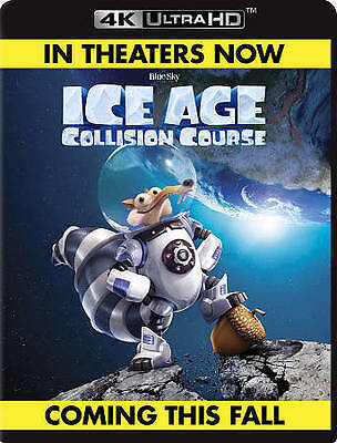 Ice Age: Collision Course (4K Ultra HD Blu-ray Disc ONLY, 2016) No Digital No Sl
