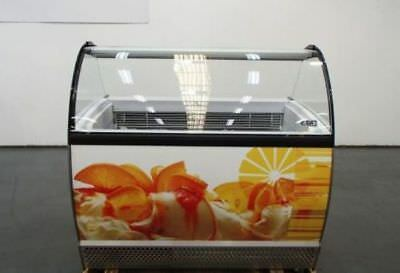 "ISA ISABELLA Model: LX10 ""NEW"" COMMERCIAL ICE CREAM FREEZER rrp $7800"