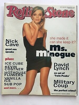 ROLLING STONE MAG Australia. Feb 91. Kylie Minogue, Nick Cave, The Southern Sons