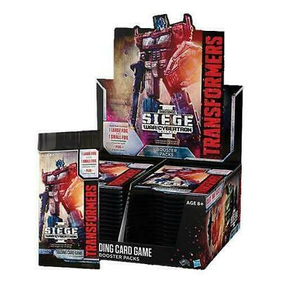 TRANSFORMERS TCG SIEGE: WAR FOR CYBERTRON SEALED BOOSTER BOX 30 packs