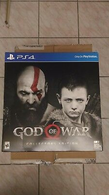 God of War: Collector's Edition Sony PlayStation 4 2018 Sealed! Read Description