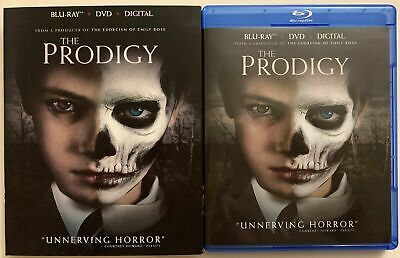 The Prodigy Blu Ray Dvd 2 Disc Set + Slipcover Sleeve Free World Wide Shipping