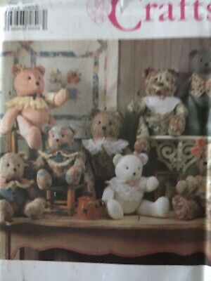 Pattern for Decorative Bear 2sizes $6