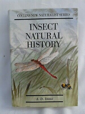 New Naturalist. Insect Natural History. A.D.Imms Hardback in Jacket. 1990