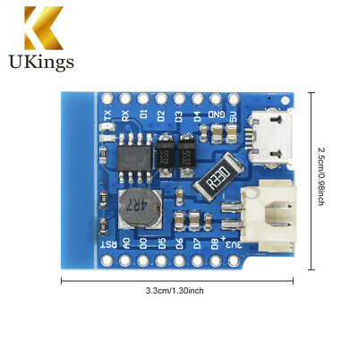 Mini Single Lithium Battery Charging Charger & Boost Battery Shield For WeMos D1
