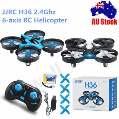 JJRC H36 Mini RC Quadcopter Drone 2.4G Headless 4CH 6-Axis LED Light RTF LOT Q2@