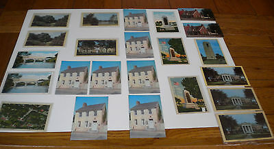 Lot of 22 Antique Unused Post Cards 1923-1960 - 1 Used Post Card from 1940's