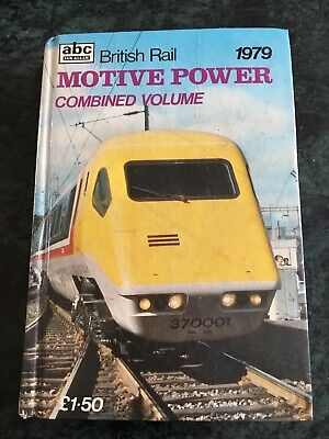 IAN ALLAN abc BRITISH RAIL MOTIVE POWER COMBINED VOLUME 1979